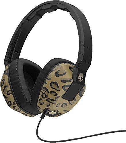 海外輸入ヘッドホン ヘッドフォン イヤホン 海外 輸入 SGSCGY-132 Skullcandy Crusher Headphones with Built-in Amplifier and Mic, Leopard海外輸入ヘッドホン ヘッドフォン イヤホン 海外 輸入 SGSCGY-132