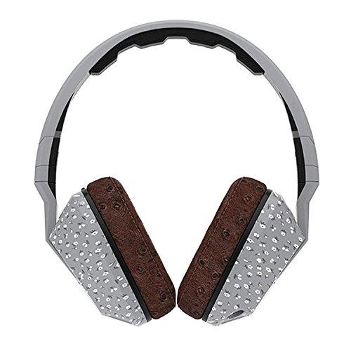 海外輸入ヘッドホン ヘッドフォン イヤホン 海外 輸入 S6SCFY-427 Skullcandy Crusher Headphones with Built-in Amplifier and Mic, Microfloral Grey and Black海外輸入ヘッドホン ヘッドフォン イヤホン 海外 輸入 S6SCFY-427