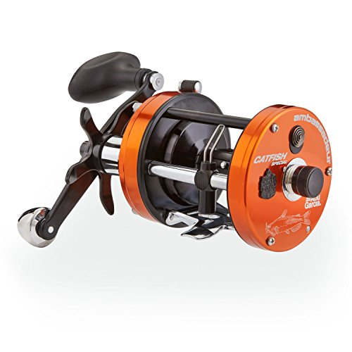 リール アブガルシア Abu Garcia 釣り道具 フィッシング C3-6500CATSPC Abu Garcia 1365392 C3 Catfish Special Round Reel, 6500 5.3: 1 Gear Ratio, 4 Bearings, 26
