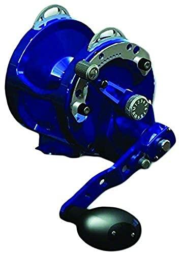 リール AVET 釣り道具 フィッシング HX5/2B Avet 2-Speed H5.4:1,L2.4:1 Lever Drag Reel, Blueリール AVET 釣り道具 フィッシング HX5/2B