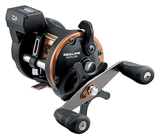 リール Daiwa ダイワ 釣り道具 フィッシング SG27LC3BLW Daiwa Sealine SG-3B 4.2:1 Line Counter Left Hand Reel w/ Dual Paddle Handle - SG27LC3BLWリール Daiwa ダイワ 釣り道具 フィッシング SG27LC3BLW