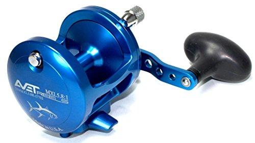 リール AVET 釣り道具 フィッシング Avet MXL 5.8 Blue Reel Single Speed Right Handリール AVET 釣り道具 フィッシング