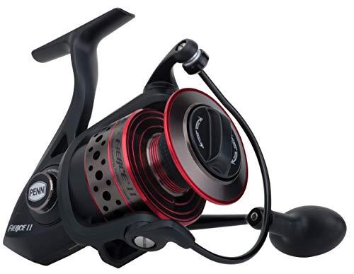 リール ペン Penn 釣り道具 フィッシング FRCII5000C Penn FRCII5000C Fierce II Spinning, 5000C, Black/Red/Smokeリール ペン Penn 釣り道具 フィッシング FRCII5000C