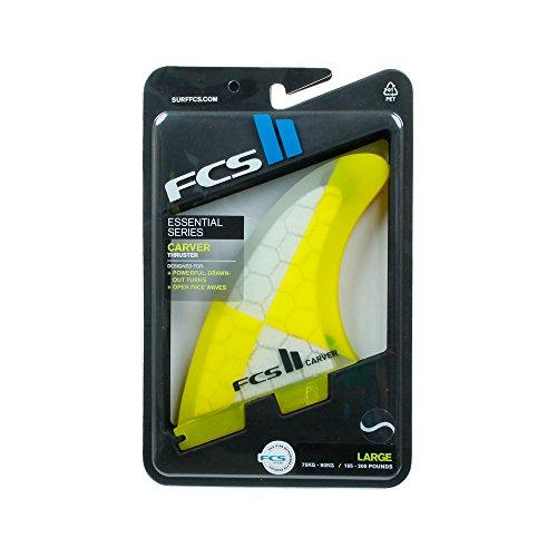 新しい季節 サーフィン Thruster フィン マリンスポーツ フィン FCS II Yellowサーフィン Carver Performance Core Thruster Fin Large Yellowサーフィン フィン マリンスポーツ, トワダコマチ:fad5936a --- neuchi.xyz