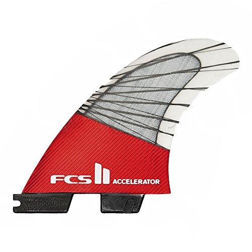 サーフィン フィン マリンスポーツ FCS II Accelerator Performance Core Thruster Fin X Small Redサーフィン フィン マリンスポーツ