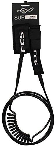サーフィン リーシュコード マリンスポーツ 11' FCS SUP Leash Straight/Coil Comboサーフィン リーシュコード マリンスポーツ