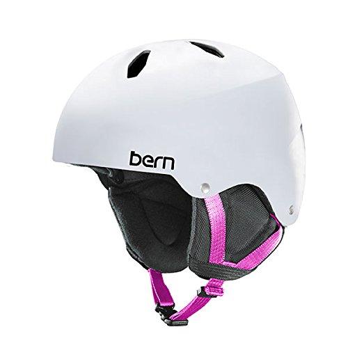 スノーボード ウィンタースポーツ 海外モデル ヨーロッパモデル アメリカモデル Bern Bern Girls Diabla Helmet (Satin White | Small / Medium)スノーボード ウィンタースポーツ 海外モデル ヨーロッパモデル アメリカモデル Bern