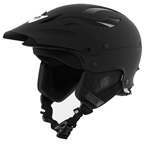 ウォーターヘルメット 安全 マリンスポーツ サーフィン ウェイクボード Rocker Helmet: M/L - Dirt Blackウォーターヘルメット 安全 マリンスポーツ サーフィン ウェイクボード