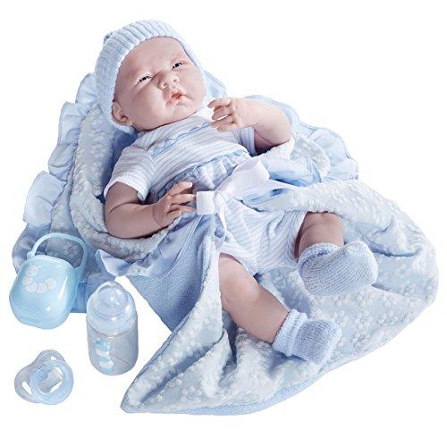 ジェーシートイズ 赤ちゃん おままごと ベビー人形 18787 【送料無料】JC Toys Deluxe Realistic Baby Boy Doll, 15.5
