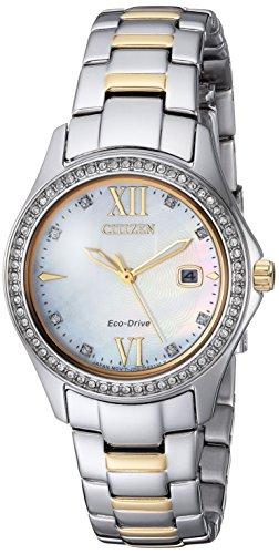 シチズン 逆輸入 海外モデル 海外限定 アメリカ直輸入 FE1144-85D Citizen Women's Quartz Stainless Steel Casual Watch, Color:Two Tone (Model: FE1144-85D)シチズン 逆輸入 海外モデル 海外限定 アメリカ直輸入 FE1144-85D