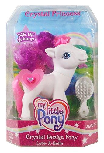 マイリトルポニー ハズブロ hasbro、おしゃれなポニー かわいいポニー ゆめかわいい 【送料無料】My Little Pony G3: Love-A-Belle - Crystal Princess Crystal Design Pony Actマイリトルポニー ハズブロ hasbro、おしゃれなポニー かわいいポニー ゆめかわいい
