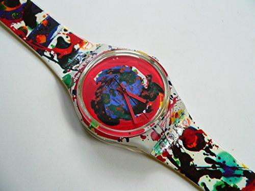 スウォッチ 腕時計 メンズ GZ123PACK 1992 Swatch Sam Francis GZ123PACKスウォッチ 腕時計 メンズ GZ123PACK