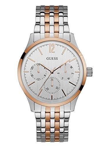 ゲス GUESS 腕時計 メンズ U0995G3 【送料無料】GUESS Factory Silver and Rose Gold-Tone Sport Watchゲス GUESS 腕時計 メンズ U0995G3
