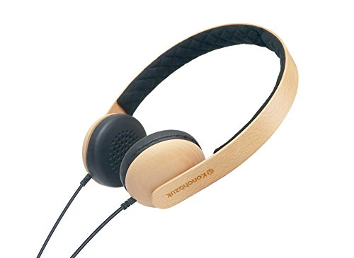 海外輸入ヘッドホン ヘッドフォン イヤホン 海外 輸入 K-H301L Wooden headphone