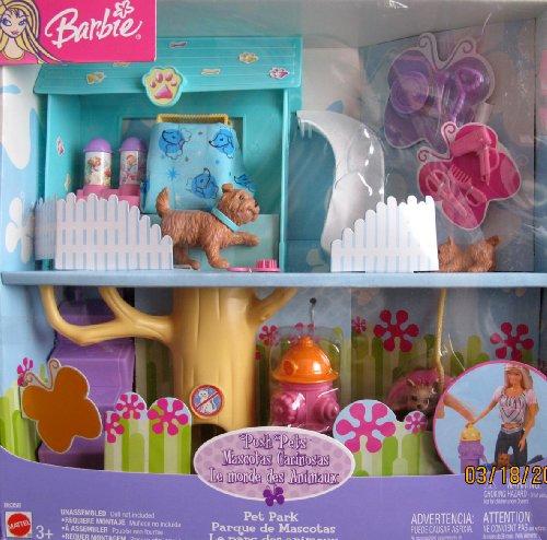 バービー バービー人形 日本未発売 プレイセット アクセサリ B6358 Barbie POSH PETS PET PARK Playset w 3 DOGS, DOG PARK w Slide, HYDRANT & More! (2003)バービー バービー人形 日本未発売 プレイセット アクセサリ B6358