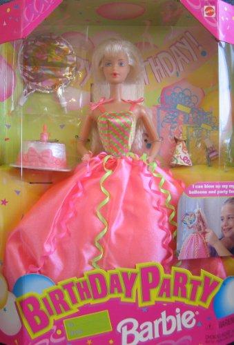 バービー バービー人形 日本未発売 バースデーバービー バースデーウィッシュ 22905 【送料無料】Birthday Party BARBIE Doll - Doll