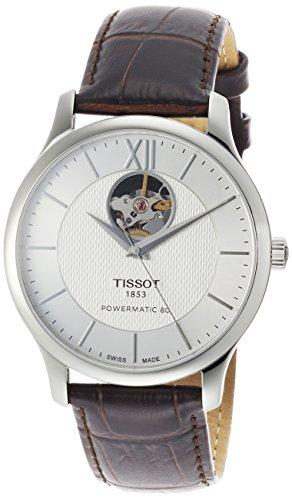 ティソ 腕時計 メンズ T0639071603800 【送料無料】Tissot Tradition Automatic Silver Dial Men's Watch T063.907.16.038.00ティソ 腕時計 メンズ T0639071603800
