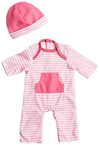 ジェーシートイズ 赤ちゃん おままごと ベビー人形 CLO15030HotPink JC Toys Hot Pink Romper (up to 16