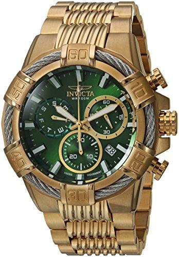 インヴィクタ インビクタ ボルト 腕時計 メンズ 25869 【送料無料】Invicta Men's Bolt Quartz Watch with Stainless-Steel Strap, Gold, 16 (Model: 25869)インヴィクタ インビクタ ボルト 腕時計 メンズ 25869