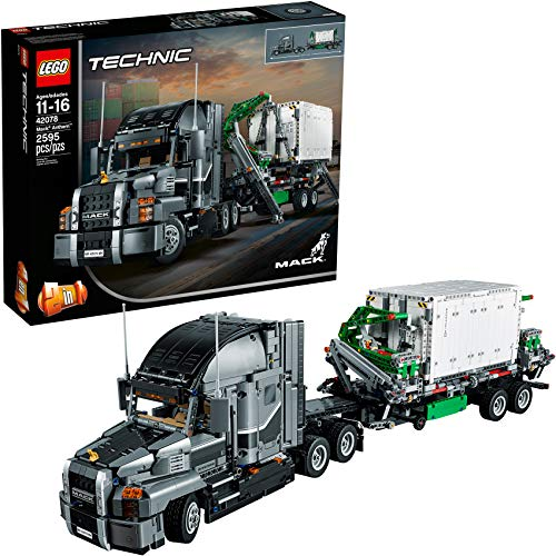 レゴ テクニックシリーズ 6213707 LEGO Technic Mack Anthem 42078 Semi Truck Building Kit and Engineering Toy for Kids and Teenagers, Top Gifts for Boys (2595 Piece)レゴ テクニックシリーズ 6213707