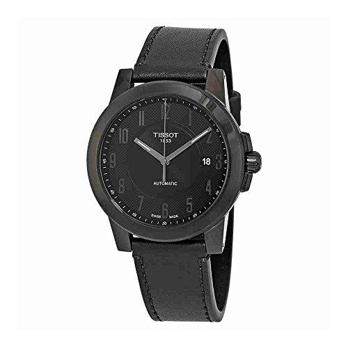 ティソ 腕時計 メンズ Tissot Men's Gentleman Swissmatic - T0984073605200 Silver/Black One Sizeティソ 腕時計 メンズ