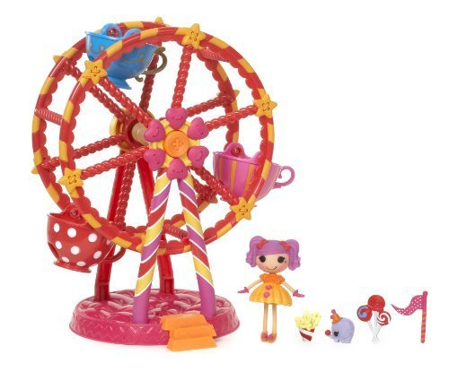 ララループシー 人形 ドール Mini Lalaloopsy 5265 Mini Lalaloopsy Doll and Ferris Wheel by Mini Lalaloopsyララループシー 人形 ドール