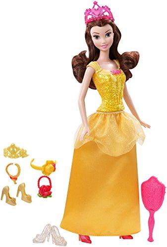眠れる森の美女 スリーピングビューティー オーロラ姫 ディズニープリンセス CNC51 【送料無料】Disney Princess Sparkle Princess Belle Doll and Accessories眠れる森の美女 スリーピングビューティー オーロラ姫 ディズニープリンセス CNC51