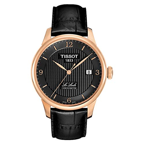 腕時計 ティソ メンズ T0064083605700 【送料無料】Tissot Le Locle Automatic COSC Black PVD Mens Watch T0064083605700腕時計 ティソ メンズ T0064083605700
