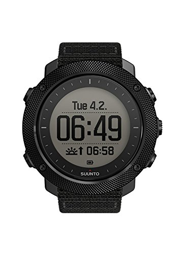 スント 腕時計 アウトドア メンズ アウトドアウォッチ特集 SS022469000 【送料無料】SUUNTO Traverse GPS Watch Stealth, One Sizeスント 腕時計 アウトドア メンズ アウトドアウォッチ特集 SS022469000