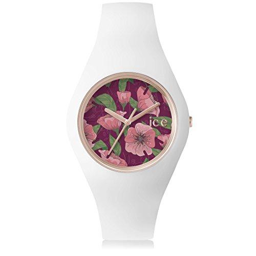 アイスウォッチ 腕時計 レディース かわいい ICE FLOWER Poppy Ice-Watch - ICE-FLOWER - Poppy - Unisex (43mm) silicone watchアイスウォッチ 腕時計 レディース かわいい ICE FLOWER Poppy