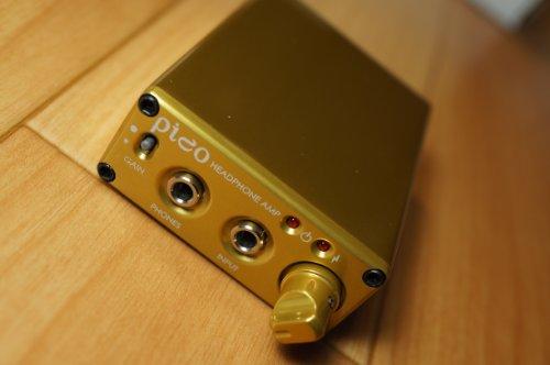 海外輸入ヘッドホン ヘッドフォン イヤホン 海外 輸入 Pico DAC/Amp Gold Headamp Pico USB DAC(Digital Analog Converter)/Amp Portable Headphone Amp Gold海外輸入ヘッドホン ヘッドフォン イヤホン 海外 輸入 Pico DAC/Amp Gold