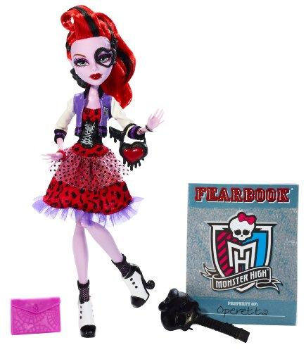 モンスターハイ 人形 ドール Y7696 Monster High Picture Day Operetta Dollモンスターハイ 人形 ドール Y7696
