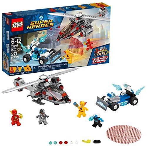 レゴ スーパーヒーローズ マーベル DCコミックス スーパーヒーローガールズ 6212661 LEGO DC Super Heroes Speed Force Freeze Pursuit 76098 Building Kit (271 Piece)レゴ スーパーヒーローズ マーベル DCコミックス スーパーヒーローガールズ 6212661