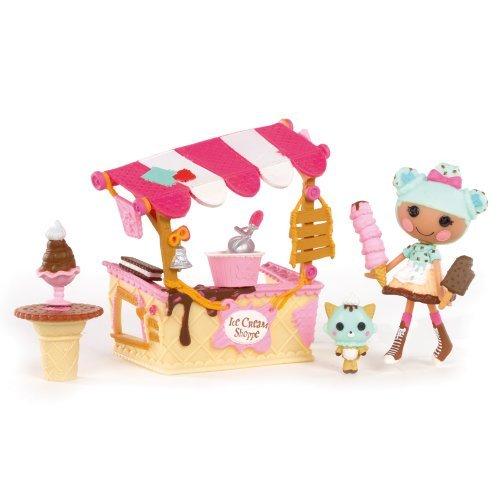 ララループシー 人形 ドール Mini Lalaloopsy Playset - Scoops Serves Ice Cream by Lalaloopsyララループシー 人形 ドール