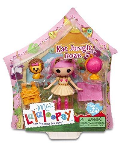 ララループシー 人形 ドール Mini Lalaloopsy Doll - Kat Jungle Roar toys [parallel import goods]ララループシー 人形 ドール