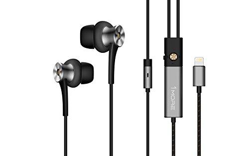 海外輸入ヘッドホン ヘッドフォン イヤホン 海外 輸入 E1004 【送料無料】1MORE E1004 ANC-BLKDual Driver Active Noise Cancelling (ANC) In-Ear Headphones (Earphones/Earbuds) w/ Lightning Connec海外輸入ヘッドホン ヘッドフォン イヤホン 海外 輸入 E1004
