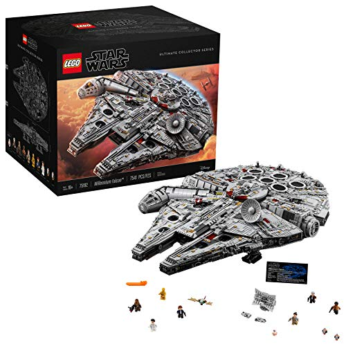 レゴ スターウォーズ 6175771 LEGO Star Wars Ultimate Millennium Falcon 75192 Building Kit (7541 Pieces)レゴ スターウォーズ 6175771