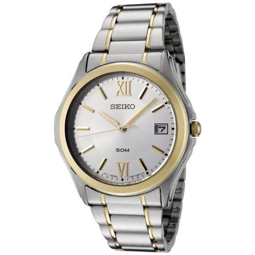 セイコー 腕時計 メンズ SGEF22P1 Seiko Men's SGEF22P1 Silver Dial Two-Tone Stainless Steel Watchセイコー 腕時計 メンズ SGEF22P1