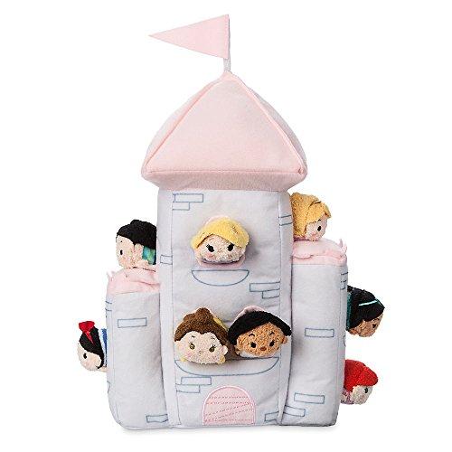 アラジン ジャスミン ディズニープリンセス 412344935267 Disney Princess ''Tsum Tsum'' Plush Castle Setアラジン ジャスミン ディズニープリンセス 412344935267