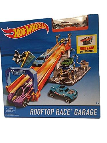 ホットウィール マテル ミニカー ホットウイール 【送料無料】Hot Wheels Rooftop Race Garage with Tune Up Shopホットウィール マテル ミニカー ホットウイール