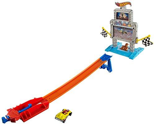 ホットウィール マテル ミニカー ホットウイール DJF02 【送料無料】Hot Wheels Triple Target Takedown Track Setホットウィール マテル ミニカー ホットウイール DJF02