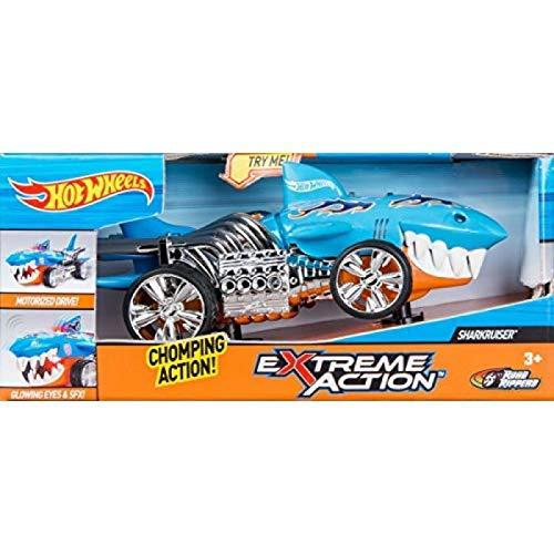 ホットウィール マテル ミニカー ホットウイール 90512 【送料無料】Hot Wheels Extreme Action Light and Sound Sharkruiserホットウィール マテル ミニカー ホットウイール 90512