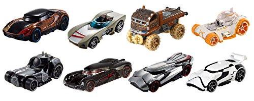 ホットウィール マテル ミニカー ホットウイール FTF52 【送料無料】Hot Wheels Star Wars Character Cars (8 Pack)ホットウィール マテル ミニカー ホットウイール FTF52