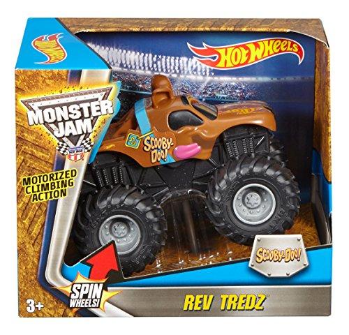 ホットウィール マテル ミニカー ホットウイール DRG18 Hot Wheels Monster Jam Rev Tredz Scooby Vehicle (1:43 Scale)ホットウィール マテル ミニカー ホットウイール DRG18