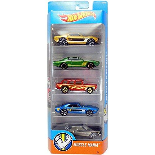 ホットウィール マテル ミニカー ホットウイール DJD16 【送料無料】Hot Wheels 2016 Muscle Mania 5-Packホットウィール マテル ミニカー ホットウイール DJD16