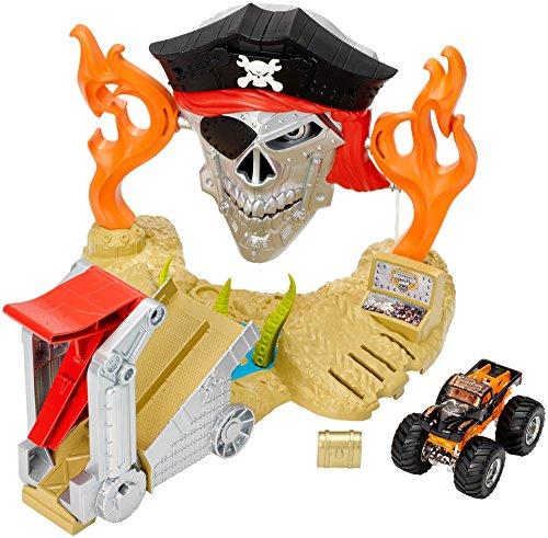 ホットウィール マテル ミニカー ホットウイール DJK63 【送料無料】Hot Wheels Monster Jam Pirate Takedown Play Setホットウィール マテル ミニカー ホットウイール DJK63