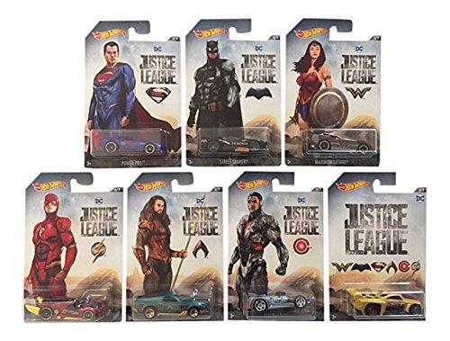 ホットウィール マテル ミニカー ホットウイール DWD02 【送料無料】Hot Wheels Justice League 7 Car Set Batman, Flash, Wonder Woman, Cyborg, Aquaman, Supermanホットウィール マテル ミニカー ホットウイール DWD02
