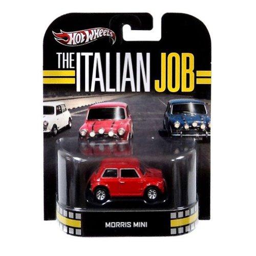 ホットウィール マテル ミニカー ホットウイール Hot Wheels Retro The Italian Job 1:55 Die Cast Car Morris Mini [Red]ホットウィール マテル ミニカー ホットウイール