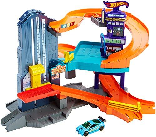 ホットウィール マテル ミニカー ホットウイール CDL36 【送料無料】Hot Wheels Workshop Track Builder Speedtropolis Track Setホットウィール マテル ミニカー ホットウイール CDL36