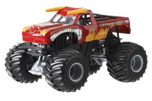 ホットウィール マテル ミニカー ホットウイール CCB08 Hot Wheels Monster Jam El Toro Loco Die-Cast Vehicle, 1:24 Scaleホットウィール マテル ミニカー ホットウイール CCB08